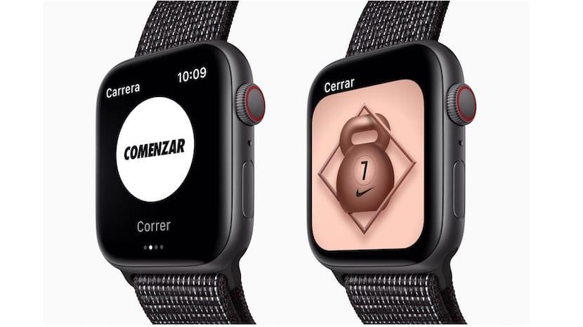 Apple Watch edición Nike