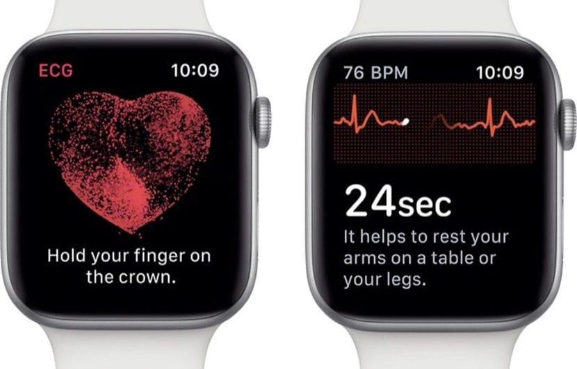 Apple Watch electrocardiograma