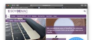 Iconos de las webs en Safari