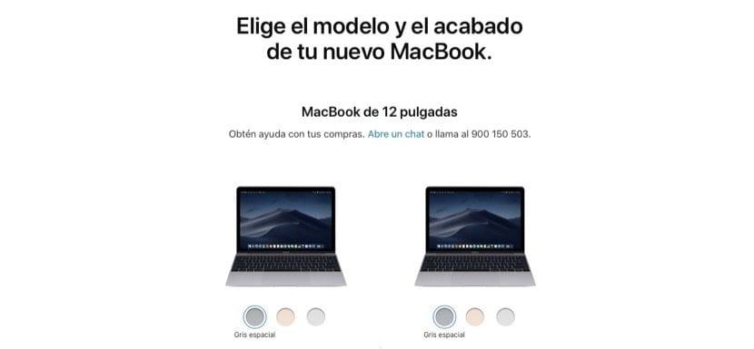 El color rosa de los MacBook de 12\