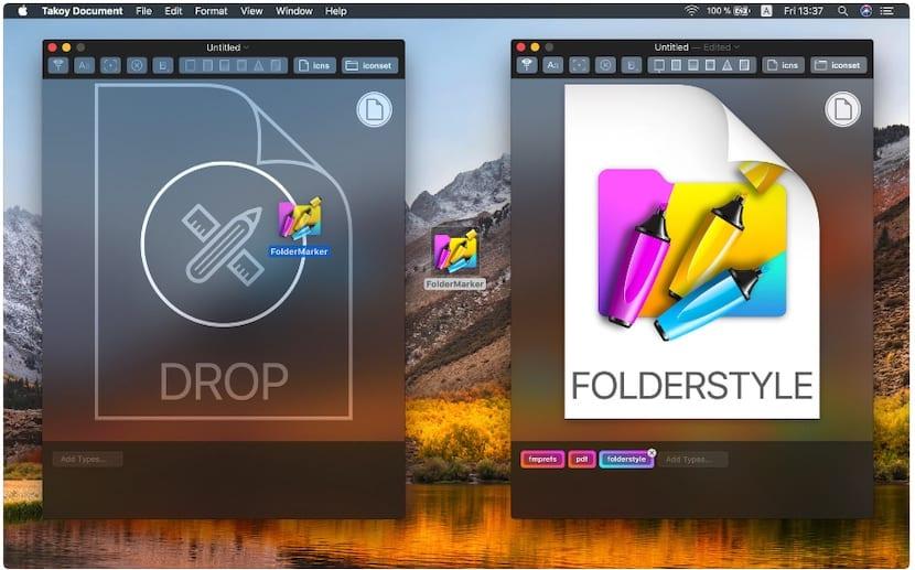 Crea iconos personalizados para tus archivos con Takoy Document
