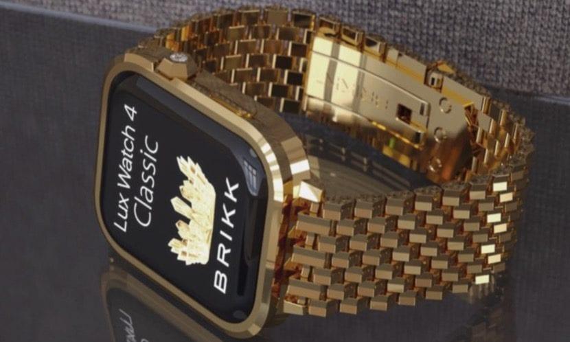Si te sobra el dinero puedes disfrutar del oro de 18k en tu Apple Watch Series 4