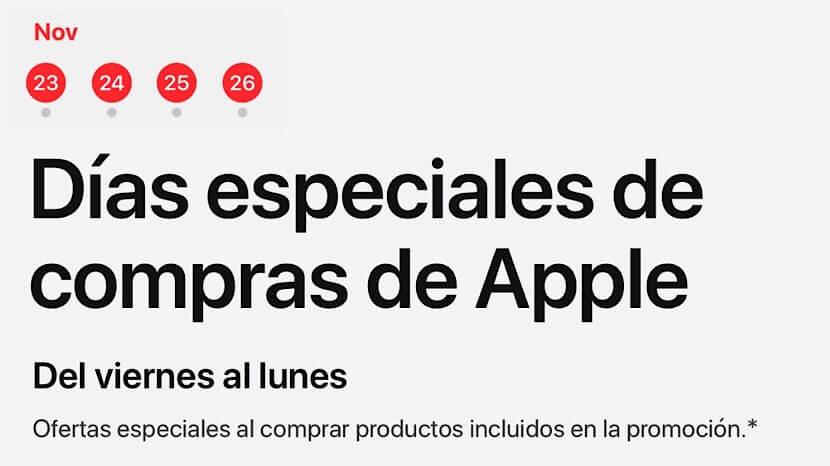 El Black Friday de Apple llega a España