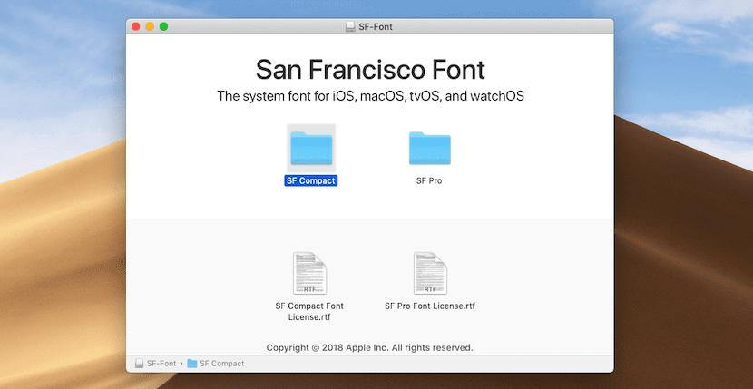 Cómo descargar la fuente San Francisco para Mac