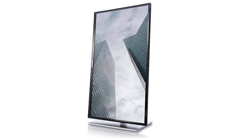 Monitor en formato vertical