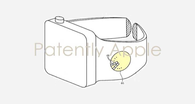 Patente del Apple Watch con un indicador LED en la correa