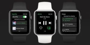 Spotify para el Apple Watch