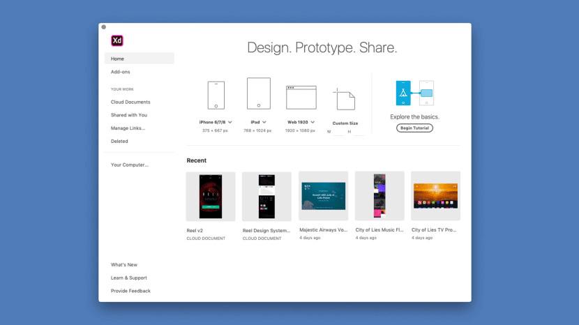 Adobe XD se actualiza con interesantes novedades