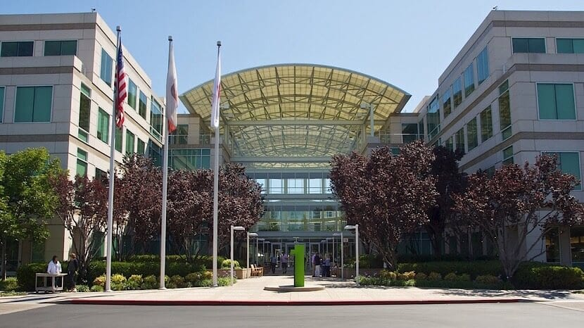 Apple en el Infinite Loop de Cupertino
