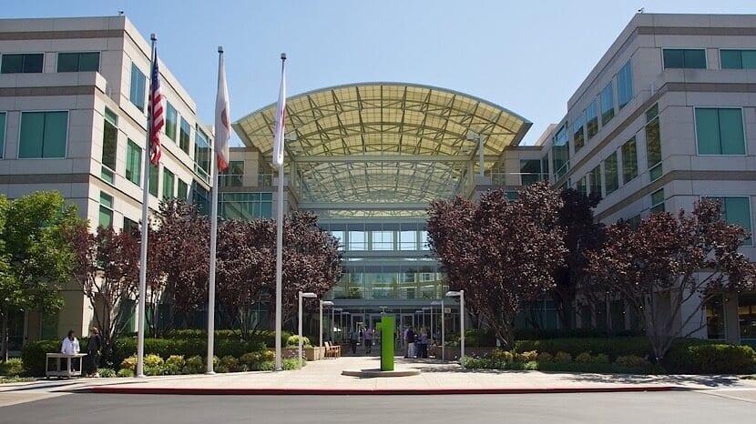 Apple en el Infinite Loop de Cupertino