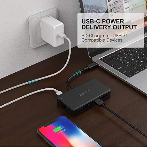 Hub USB-C de Dodocool para Mac