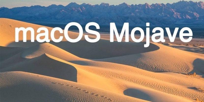 Sistema operativo macOS Mojave