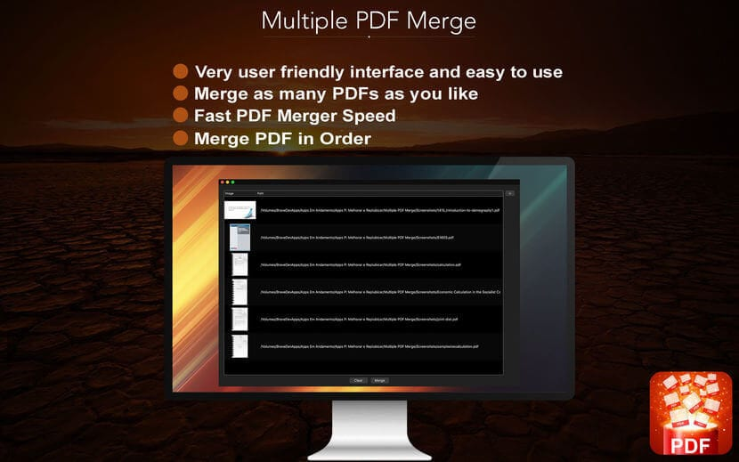 Multiple PDF Merge