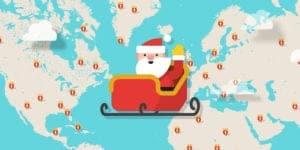 Sigue a Papá Noel con Google