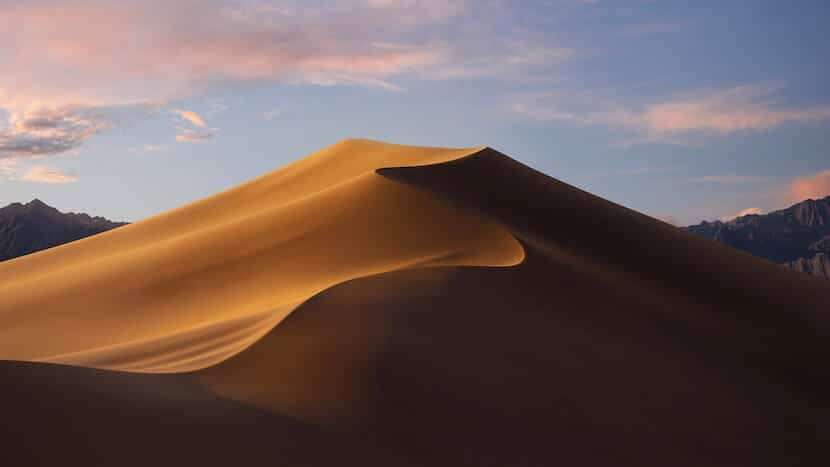 Fondo de pantalla macOS 10.14 Mojave