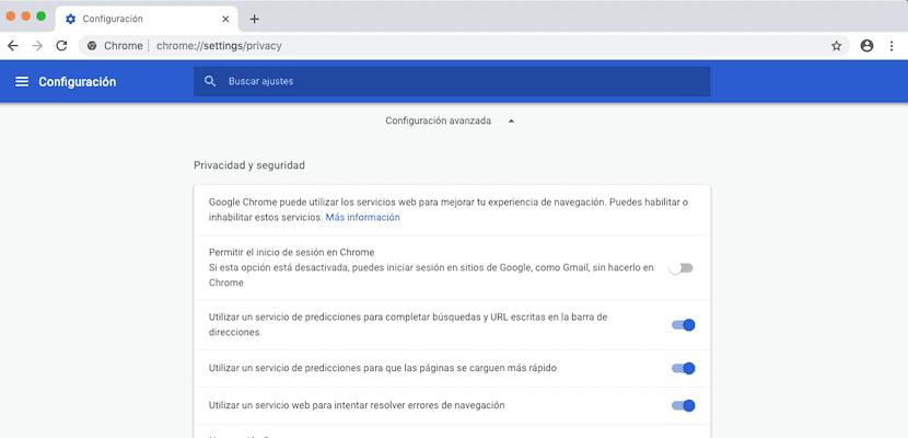Desactivar el inicio de sesión automático de Google Chrome