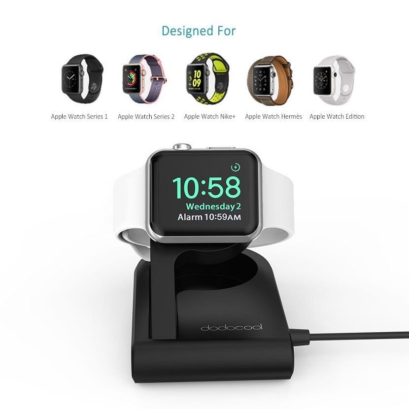 Dock para el Apple Watch de Dodocool