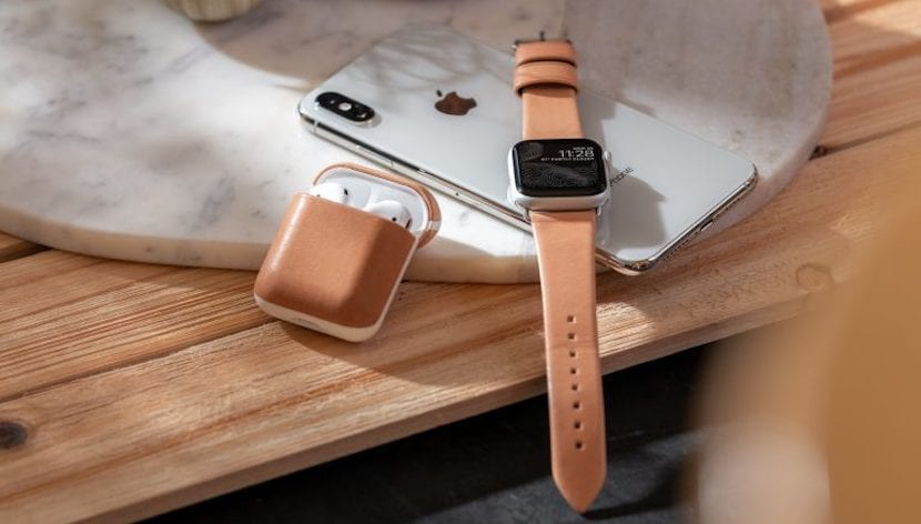 Corre Apple Watch - Funda AirPods de Piel original - Nomad