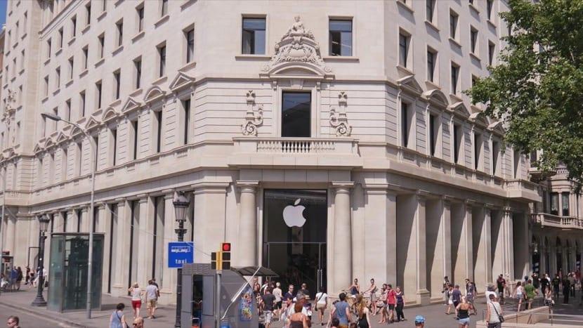 Apple store Passeig de Gràcia