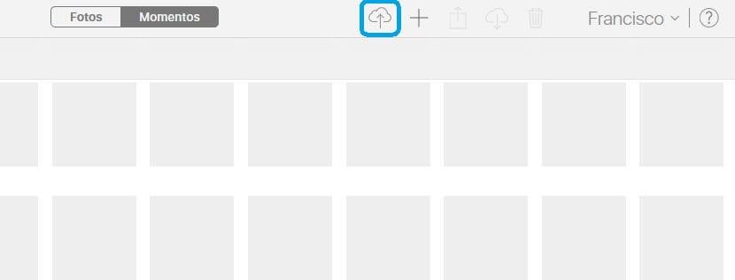 Subir una foto a la fototeca de iCloud desde Windows