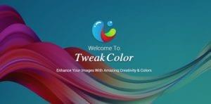 Bienvenida app Tweak color