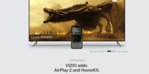 AirPlay con los televisores de Vizio