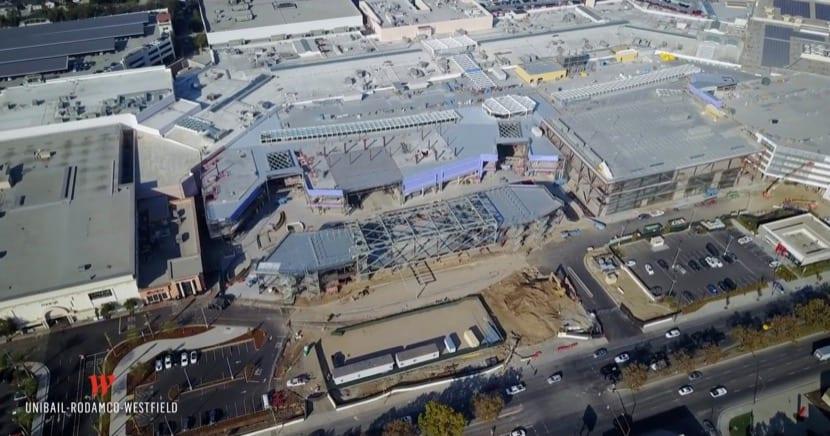 Vista del Centro Comercial Westfield