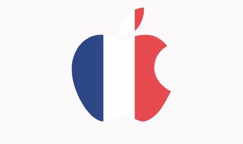 Logo Apple Francia