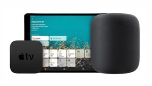Apple TV y HomePod