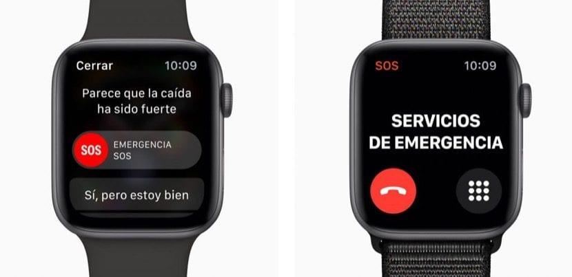 Detección caídas Apple Watch