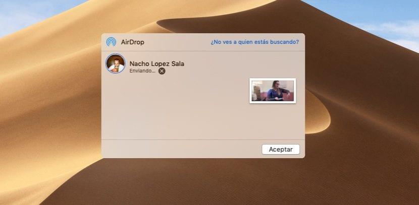 Cómo enviar archivos desde nuestro Mac al iPhone o iPad a través de AirDrop