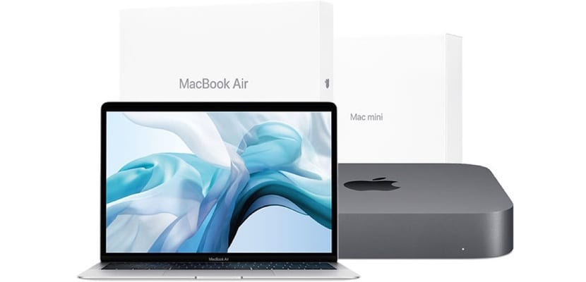 Reacondicionados Mac de 2018. Mac mini y MacBook Air
