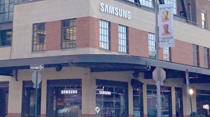 Tiendas de Samsung en Estados Unidos