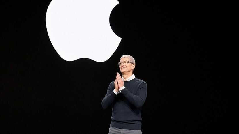 "Tim Cook en la Keynote de Apple ""It's show time"""