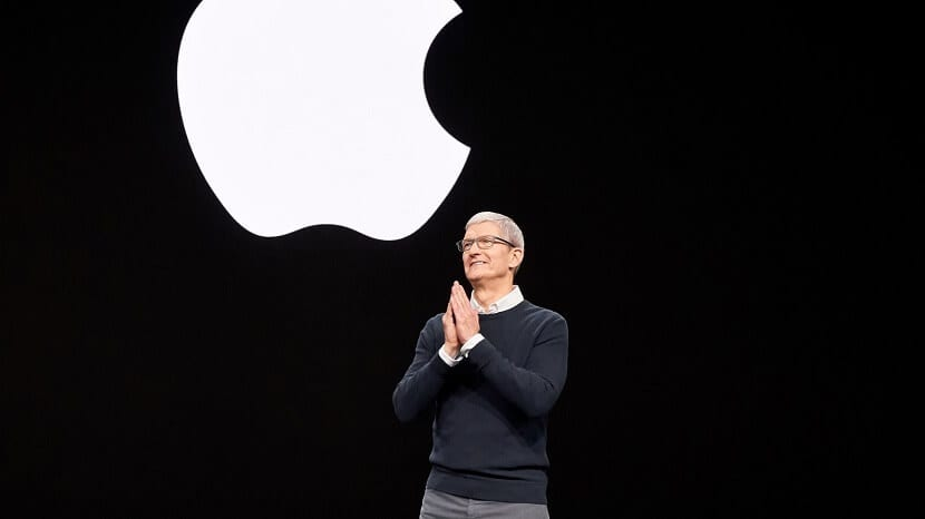 "Tim Cook en la Keynote de Apple ""It's show time"""