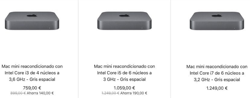 Mac mini restaurado