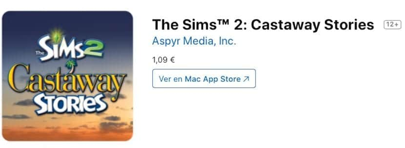 The Sims 2: Castaway Stories