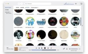 Interfaz de Audirvana 3.5