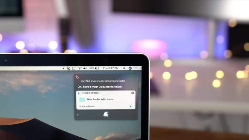Siri en macOS