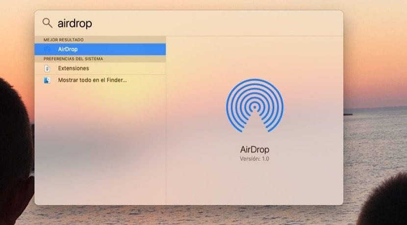 Finder AirDrop