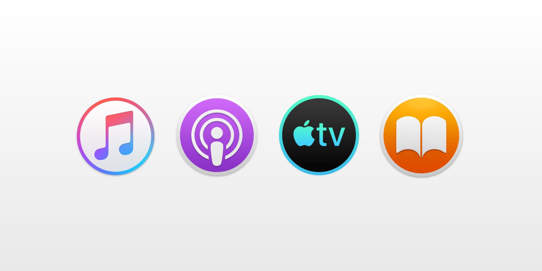 Aplicaciones para Mac de Música, Podcast, TV y Libros