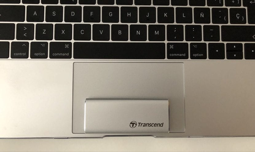 Tamaño SSD Transcend