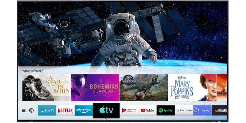 Samsung AirPlay 2 ya disponible