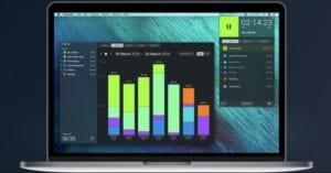 Interfaz de la aplicación Timemator