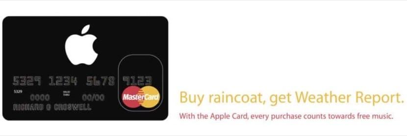 Tarjeta Apple card
