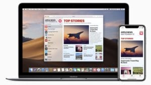Apple News+ macOS