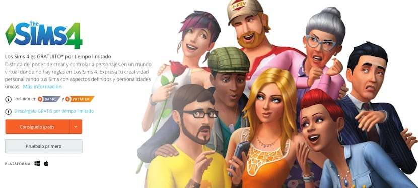Los Sims 4 Gratis para Mac