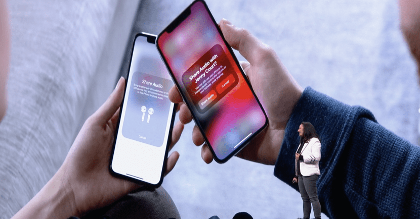 Comparte música con otro disposiitivo iOS