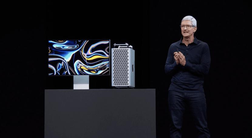 Tim Cook Presentando el Mac Pro