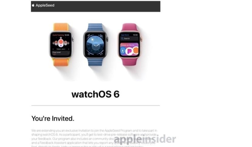 Beta watchOS